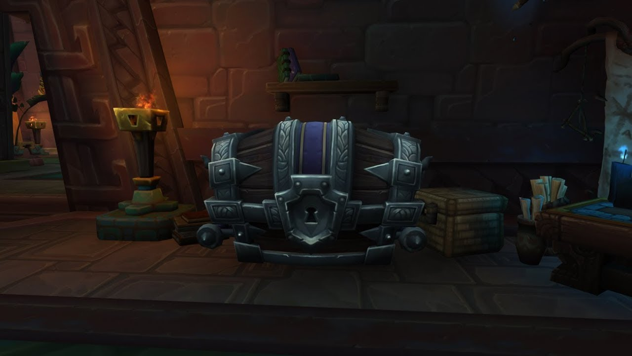 Where is the mythic chest in bfa?