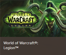 World of Warcraft:Legion (Standard Edition) CD-KEY EU