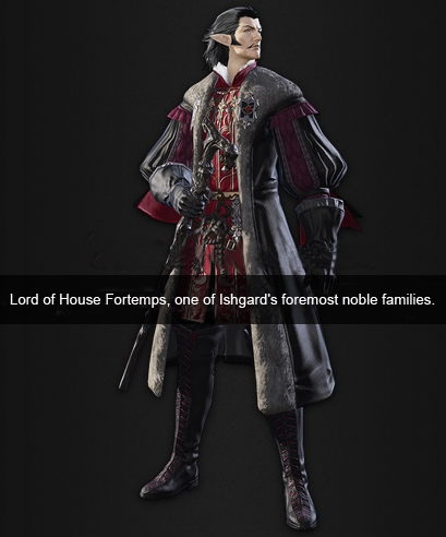 Lord of House Fortemps