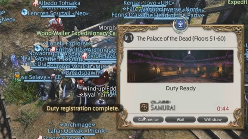 FFXIV Palace Of The Dead: Requirements and Rewards