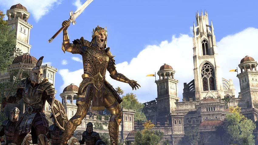 the DLC of ESO online