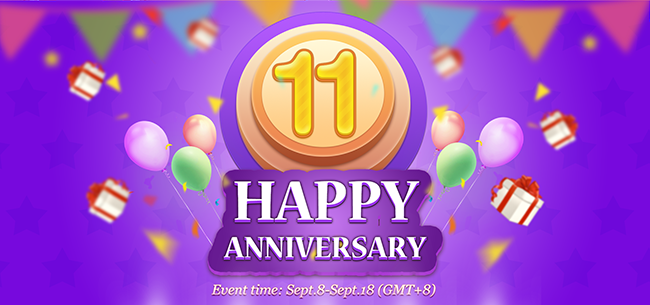 celebrating our 11th anniversary gifts giveaway and special 10