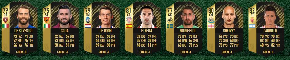 FIFA 18 TOTW 17