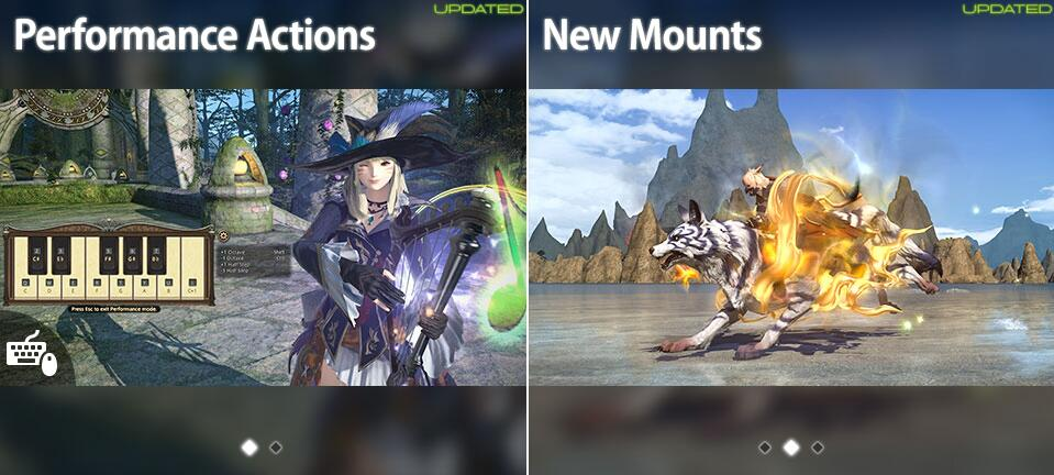 Ffxiv All Kamuy Mounts