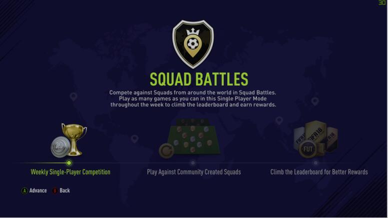 FIFA 18 Squad Battles