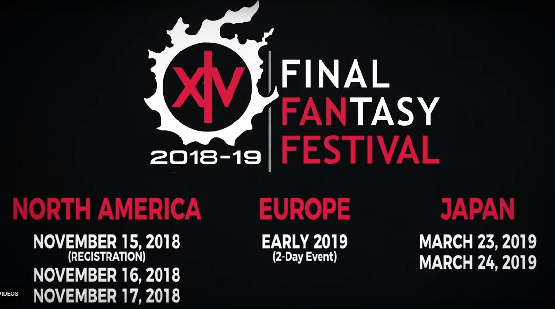 FFXIV Fan Fest 2018 Event: America, Europe and Japan Event time and