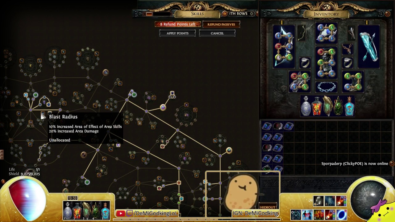 Path of Exile Passive Skill Tree