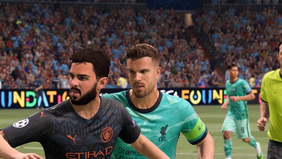 FIFA 21 Player feedback system