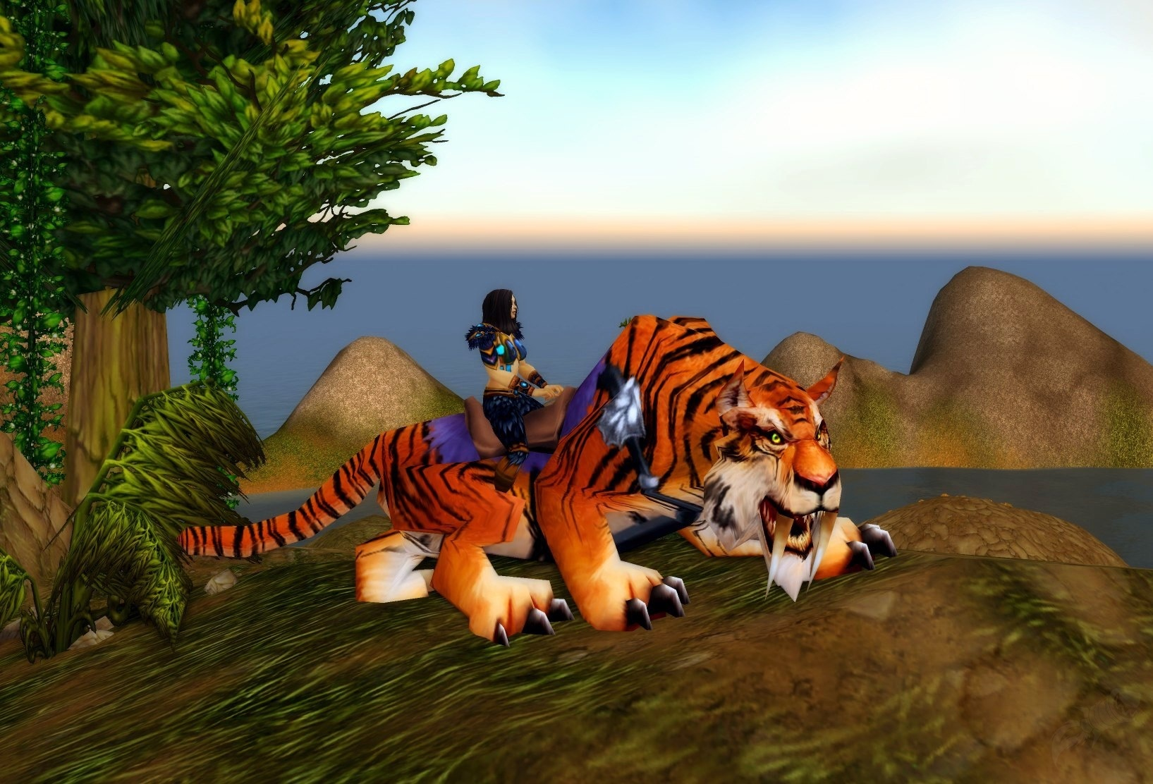Bengal tiger in wow classic