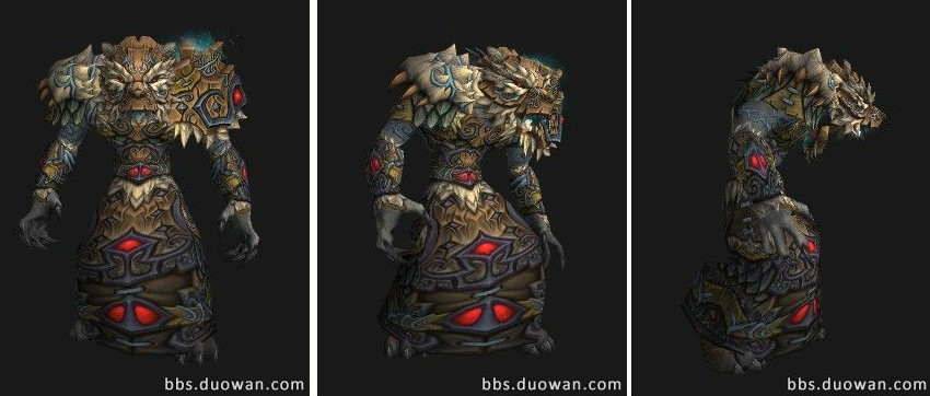 The Pandaren S Informations T14 Package For Druid