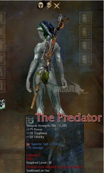 Crafted Legendary Weapons of Guild wars 2