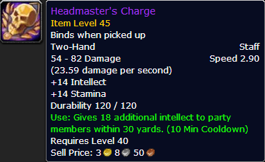 Image result for headmaster's charge