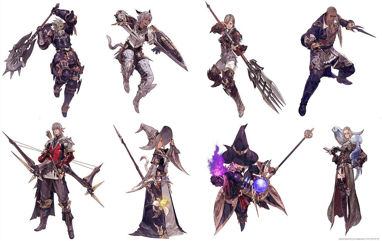 Best Final Fantasy Xiv Classes For Beginners