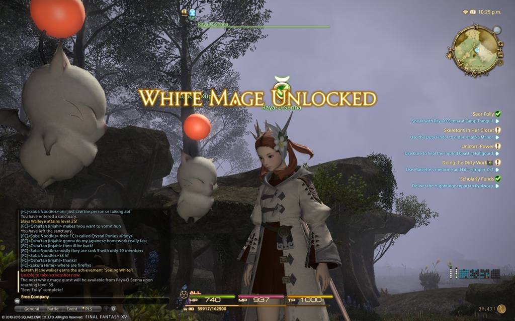 useful white mage tips
