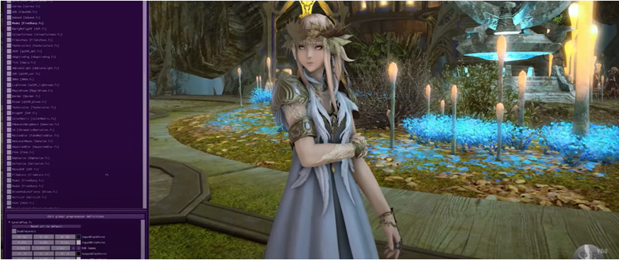 ReShade overlay in FFXIV