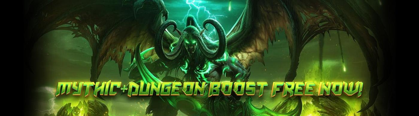 mythic dungeon free